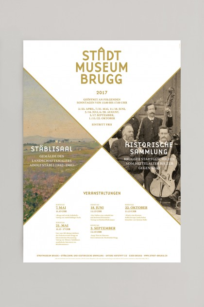 Stadtmuseum Brugg, Corporate Design